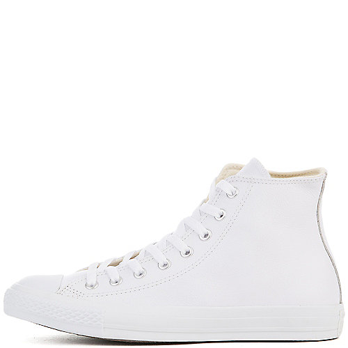 Converse Chuck Taylor AS Leather Hi white athletic lifestyle sneaker