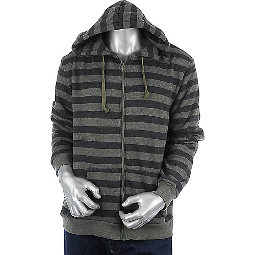 Shiekh Striped Fleece Hoodie mens hoodie