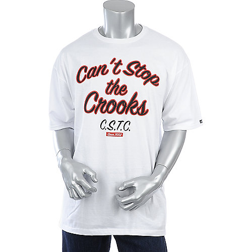 Crooks & Castles Scripted Tee mens white tee