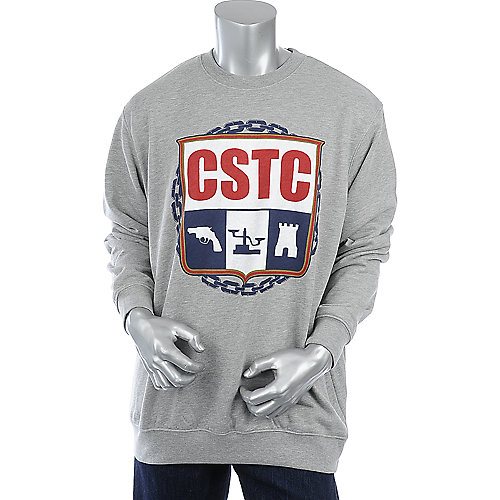 Crooks & Castles Crest Crewneck Sweater mens sweater