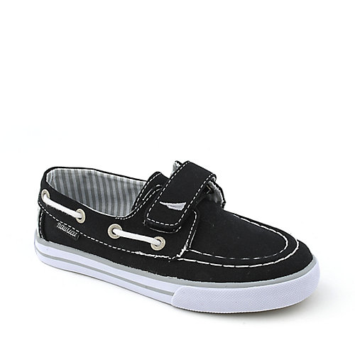 Nautica Canvas Velcro Deck youth sneaker