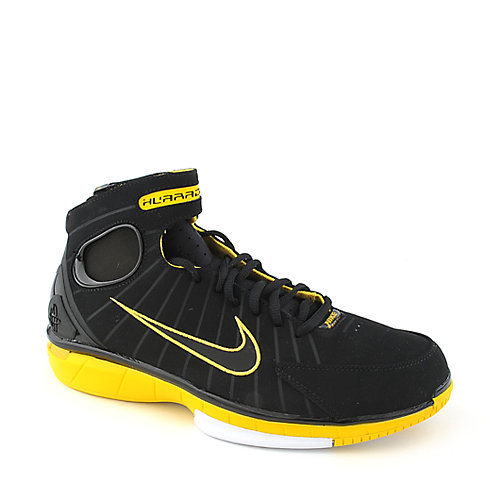 H And K Shoes Mens Black And Yellow