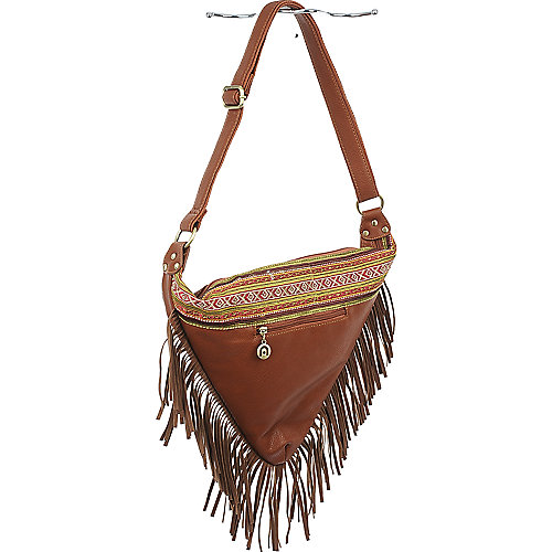 Nila Anthony Triangle Fringe Bag shoulder bag