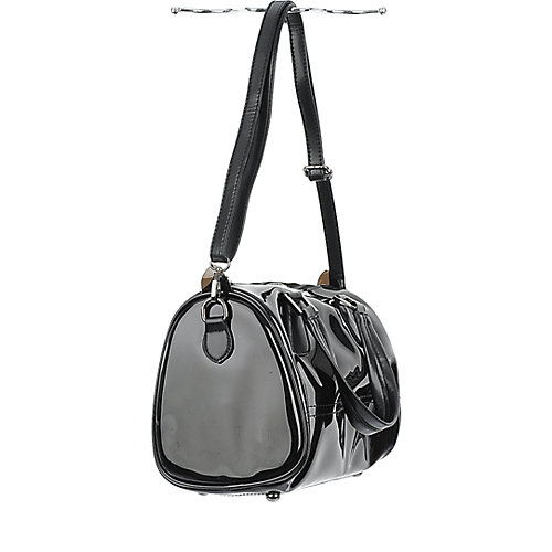 Shiekh Transparent Satchel black handbag