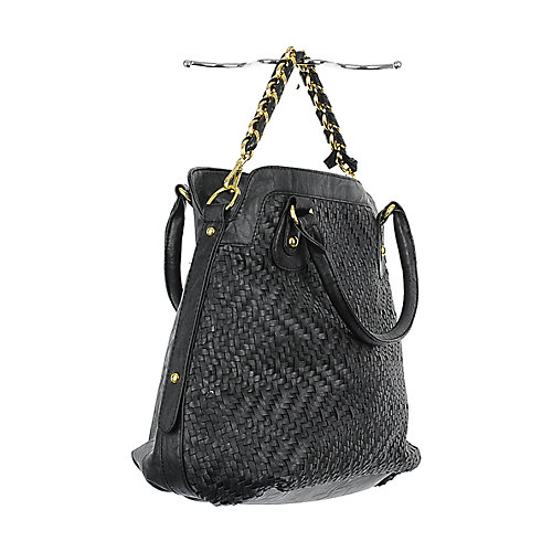 Nila Anthony Woven Satchel satchel handbag