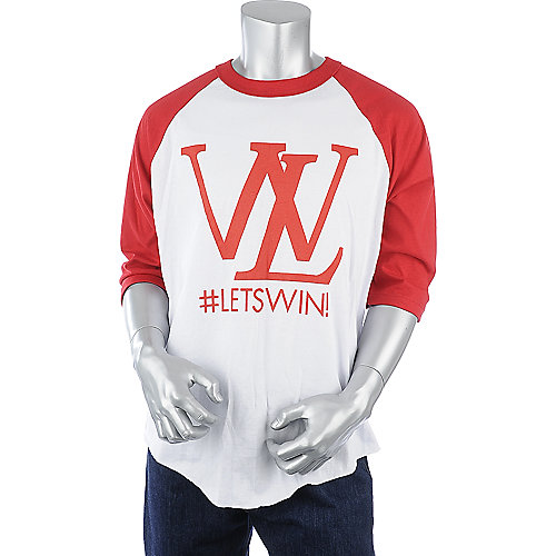 Lets Win Crewneck mens baseball tee