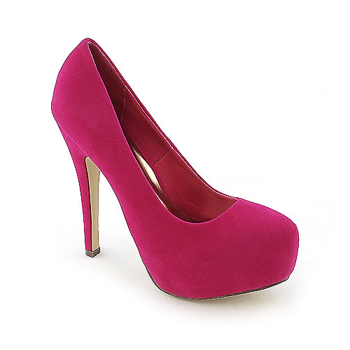 Shiekh Nikki-12 womens dress high heel platform pump