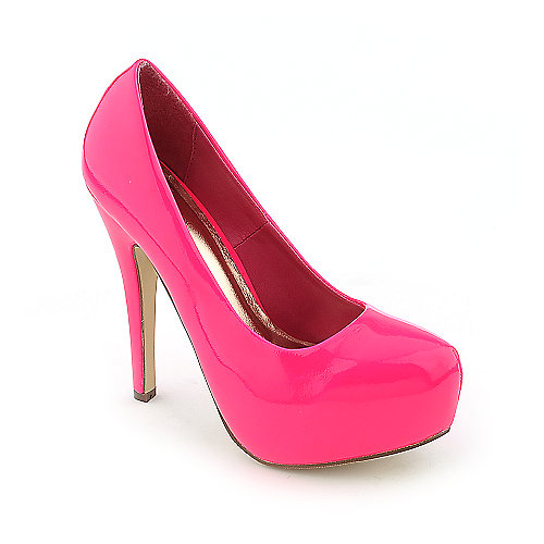 Shiekh Womens Nikki-2 Pink Dress High Heel Pumps