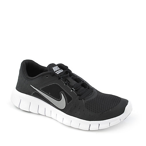 black nike free run kids