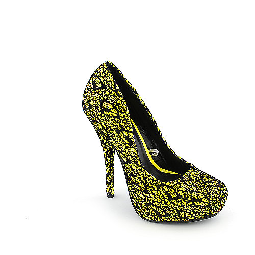 Shiekh 044 womens dress high heel platform