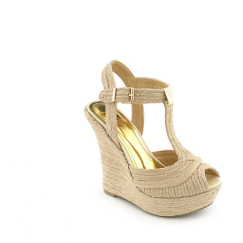 Shiekh 050 womens casual espadrille platform wedge