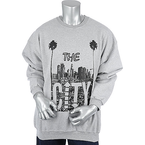 Money Gang Apparel The City Crewneck mens crew neck sweater