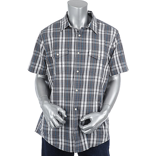 Hurley Combo Short Sleeve Woven Shirt mens button up shirt