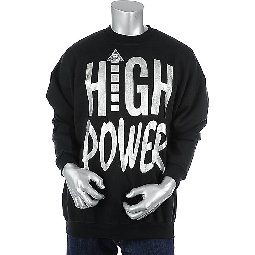 Flaucy High Power Crewneck mens sweater