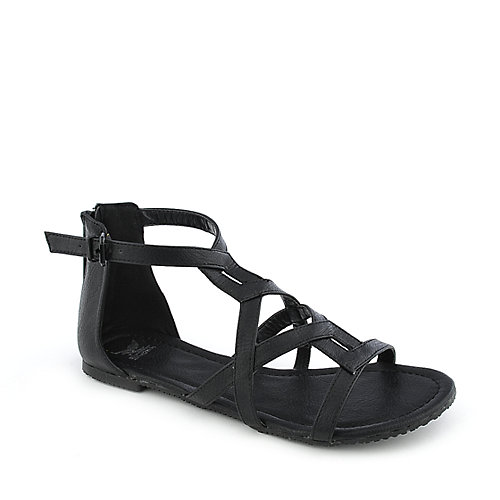 Shiekh 058 womens flat strappy gladiator sandal