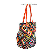 Tribal Oversized Handbag