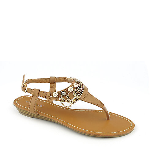 Bamboo Wonderful-02 womens thong sandal