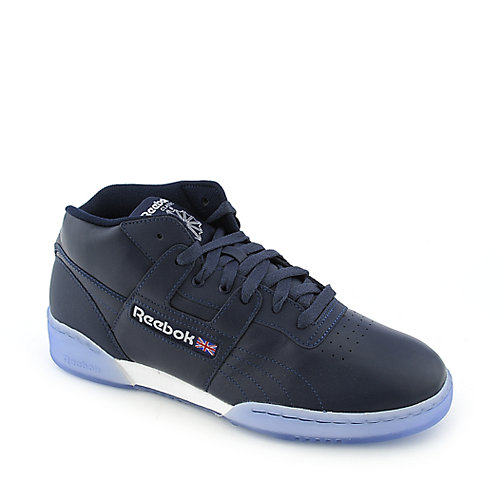Reebok Workout Mid Ice mens athletic sneaker