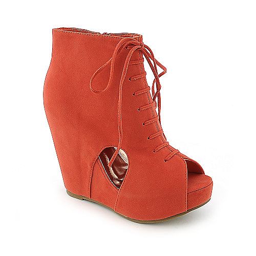 Glaze Camilla-2 womens ankle platform wedge boot