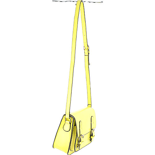 Shiekh Front Pocket Satchel yellow shoulder bag