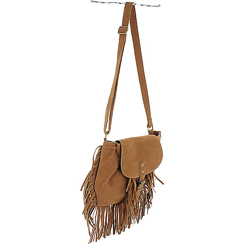 Shiekh Fringe Cross Body Bag brown handbag