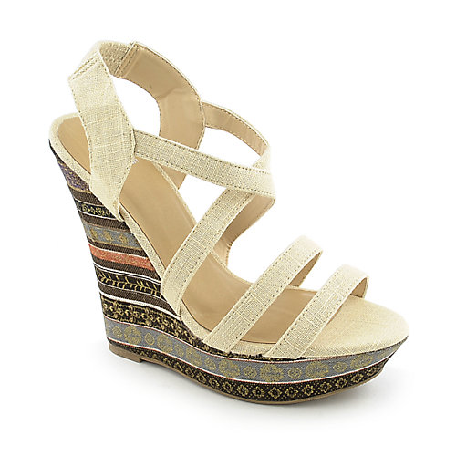 Shiekh Bruno-S womens casual strappy platform wedge