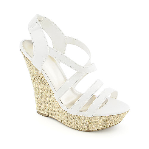 Shiekh Bruno-S womens casual espadrille strappy platform wedge