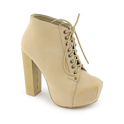 Vintage Francheska-01 womens high heel platform ankle boot