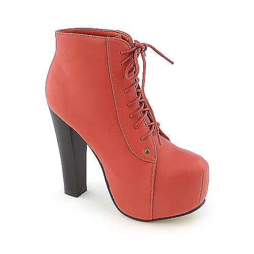 Glaze Victoria-11 womens high heel platform ankle boot