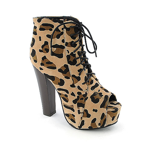 Glaze Vicioria-26 womens high heel platform ankle boot