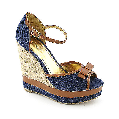Bamboo Energy-11 womens casual wedge