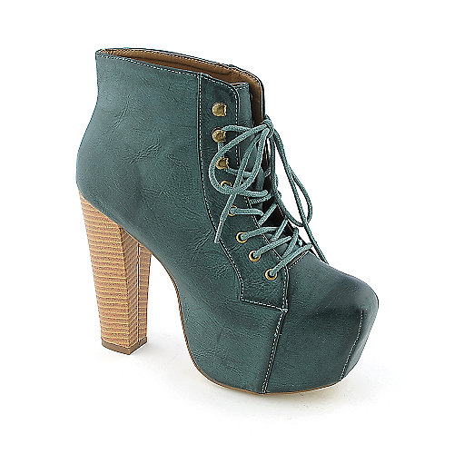 Shoe Republic LA Step womens high heel platform ankle boot