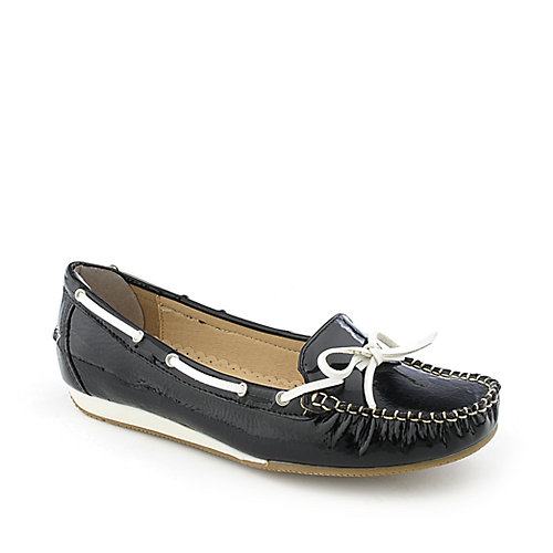 Nature Breeze Wendi-02 womens slip-on flat boat shoe
