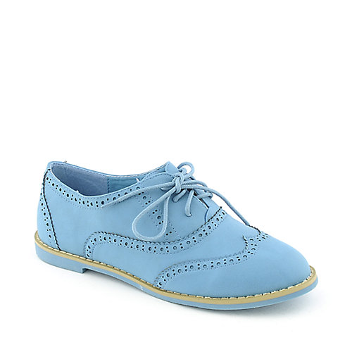 Nature Breeze Cambridge-31 womens casual lace-up oxford flat