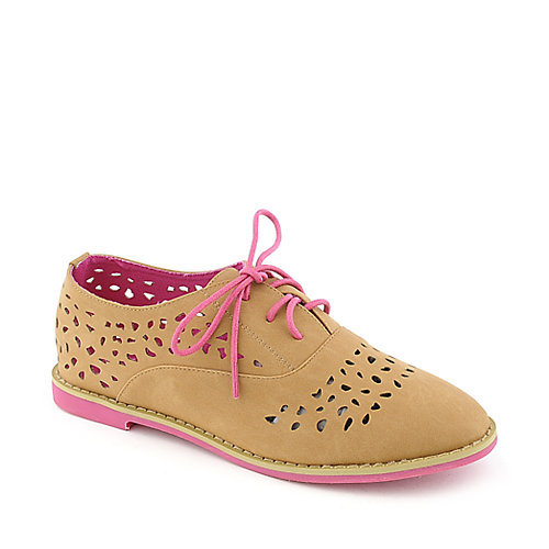 Nature Breeze Cambridge-32 womens casual lace-up oxford flat