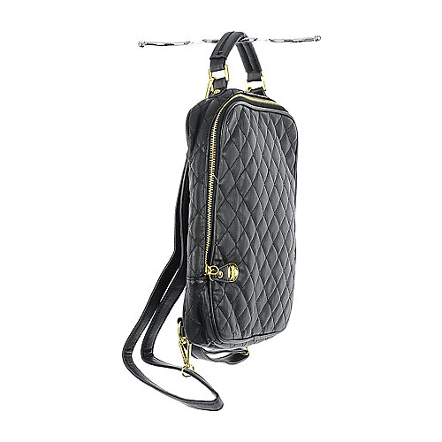 Nila Anthony Quilted Backpack black backpack