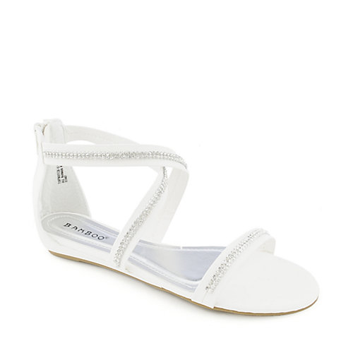 Bamboo Topnotch-01 womens jeweled sandal