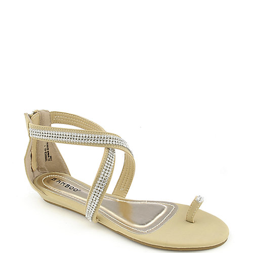 Bamboo Topnotch-03 womens jeweled sandal