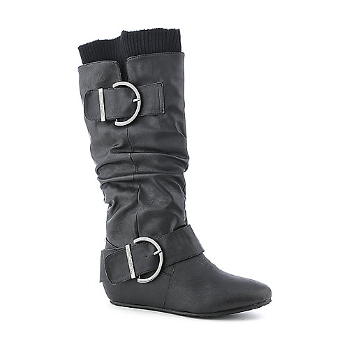 Shiekh Candies-66D womens mid-calf boot