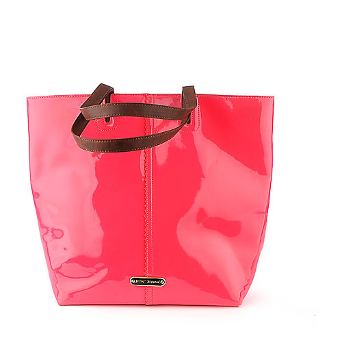 Betsey Johnson N/S Tote pink shoulder handbag