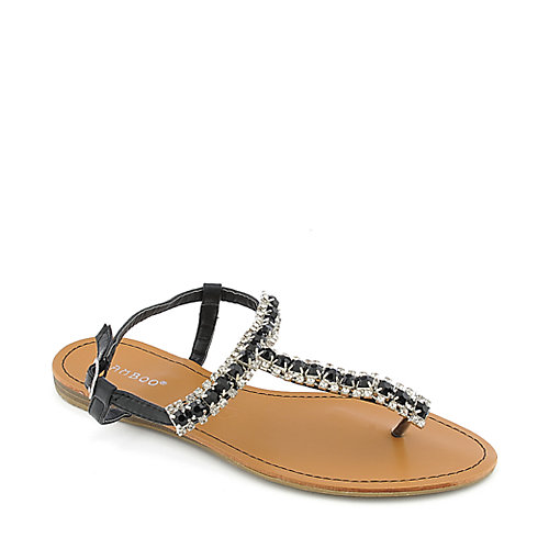 Bamboo Ashley-38 womens jeweled sandal
