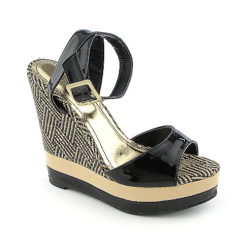 Bamboo Energy-08 womens casual platform wedge