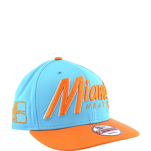 New Era Miami Heat Cap hardwood classics snapback
