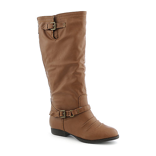 Shiekh Nakia-AS womens western/riding knee high low heel boot