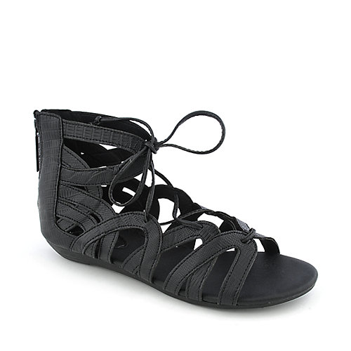 Shiekh York-S womens flat gladiator strappy sandals