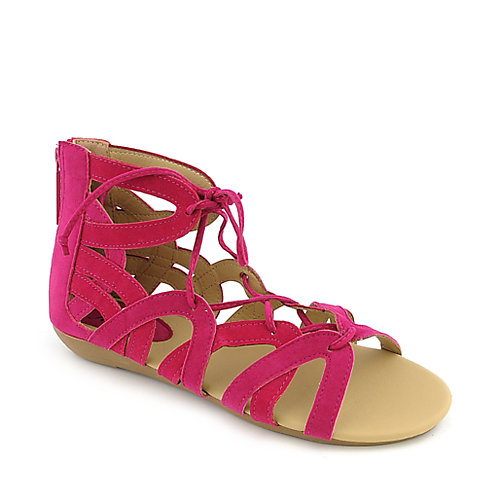 Shiekh York-S womens flat gladiator strappy sandal
