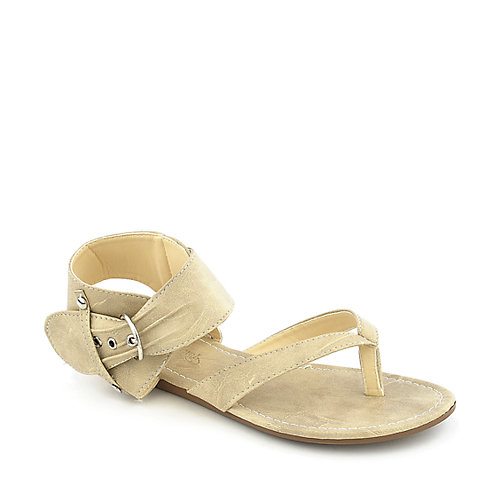 Rose Girl B2505 womens flat thong sandal