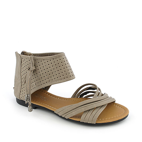 Rose Girl B3017 womens flat strappy sandal