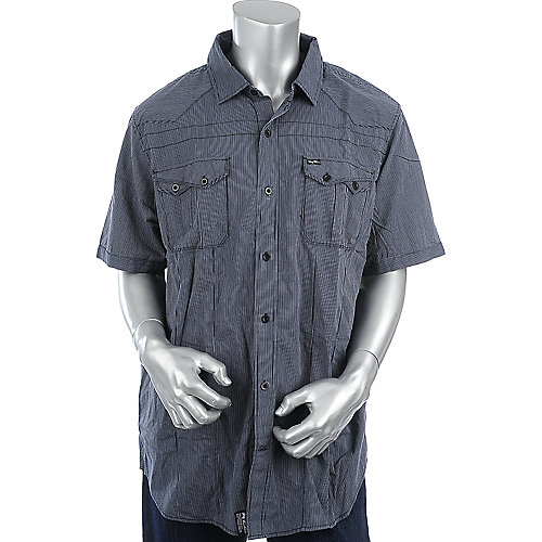 LRG Woven World SS mens button-up shirt