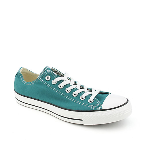 267432516009 Converse Mens All Star Lo Turquoise Casual Lace Up Sneaker